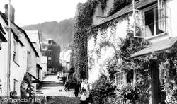 Clovelly, 1890