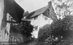 Clovelly, A Picturesque Corner c.1900