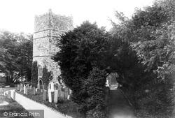 Clovelly, All Saints Church 1906