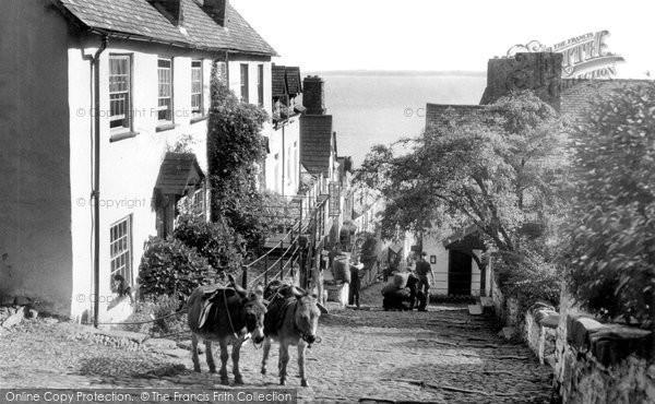 Clovelly, Downalong c1960