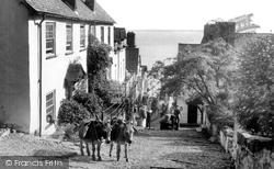 Clovelly, Downalong c.1955