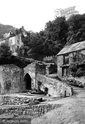Clovelly, Entrance To Village c.1880