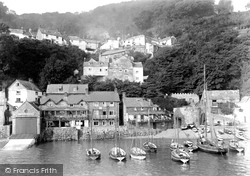 Clovelly, From The Quay c.1890
