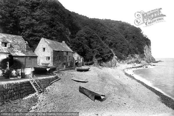 Photo of Clovelly, Gallant Rock 1908, ref. 61008