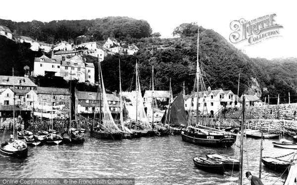 Photo of Clovelly, Harbour 1890, ref. 24770