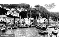 Clovelly, Harbour 1890