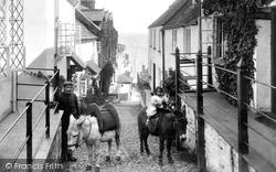Clovelly, High Street 1908
