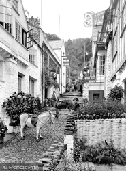 Clovelly, High Street 1923