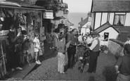 Clovelly, High Street c1965