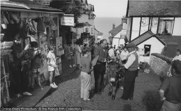 Photo of Clovelly, High Street c1965