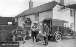 Post Office, Transfer Of Mail 1936, Clovelly
