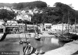 Clovelly, The Harbour 1894