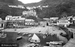 Clovelly, The Harbour 1906