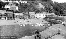 Clovelly, The Harbour c.1965