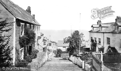 Clovelly, The Street, Looking Down c.1875