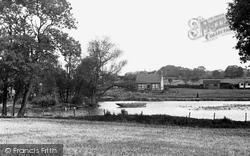 Clowne, Harlesthorpe Dam c.1950