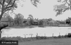 Harlesthorpe Dam c.1950, Clowne