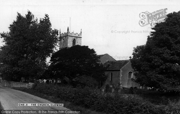 Photo of Clowne, St John The Baptist Church c.1950