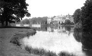 Clumber Park, House from south east c1873