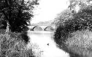 Clumber Park, the Bridge c1955