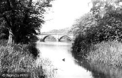 The Bridge c.1955, Clumber Park