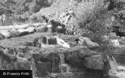 The Cascade c.1955, Clumber Park