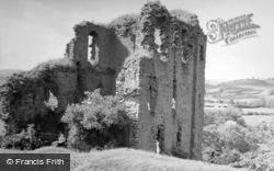 Clun, Castle 1952