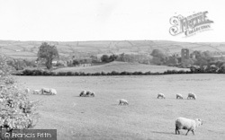 Clun, General View c.1960