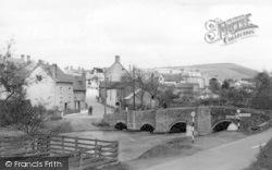 Clun, The Bridge c.1955