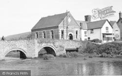 Clun, The Bridge c.1960