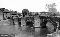 Clun, The Bridge c.1965
