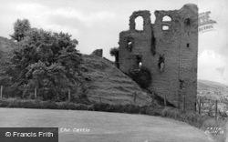 The Castle c.1955, Clun