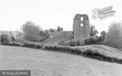 Clun, The Castle c.1955