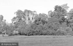 Clun, The Castle c.1960