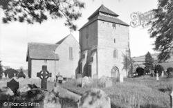 Clun, The Church c.1955
