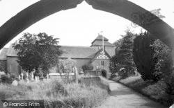 Clun, The Parish Church c.1960