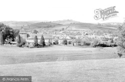 Clun, The View From Church Bank c.1955