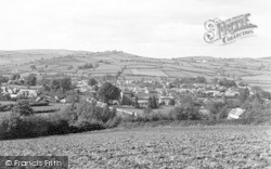 Clun, View From Church Bank c.1955