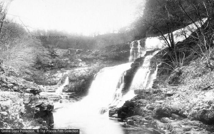 Photo of Clungwyn Falls, Middle Falls 1898