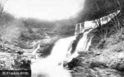 Clungwyn Falls, Middle Falls 1898