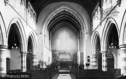 Clydach, St Mary's Church Interior c.1960