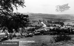 Clydach, The River Tawe, Ynystawe c.1955