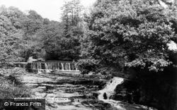 Clydach, The Waterfall c.1955