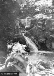 Clydach, The Waterfall c.1965