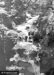 Clydach, Valley, Fairy Glen Falls c.1965