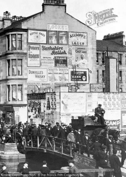 Photo of Clydebank, Adverts, Kilbowie Road 1900