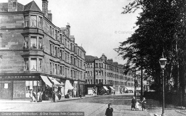 Photo of Clydebank, Beardmore Terrace, Dumbarton Road, Dalmuir c.1900