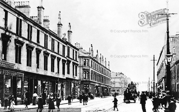 Photo of Clydebank, Glasgow Road 1900
