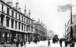 Glasgow Road 1900, Clydebank