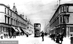 Glasgow Road c.1900, Clydebank